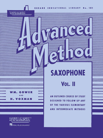 Rubank Advanced Method for Saxophone Vol. 2