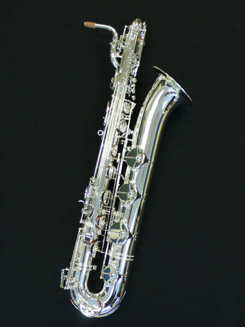 RW Pro Series Baritone Saxophone Double Silver Plated