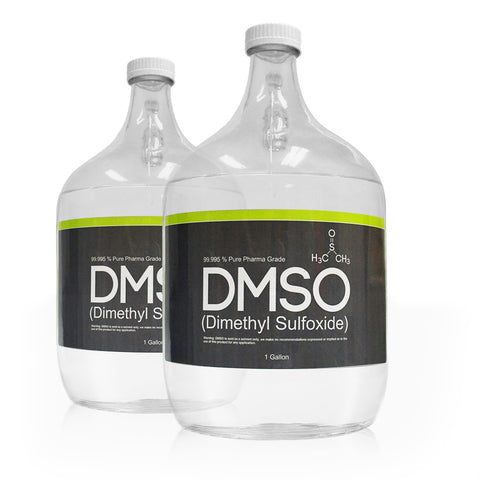 2 Gallon 99.995% Pure Pharma Grade DMSO packed in Glass container