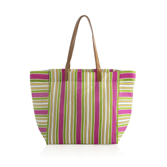 Larue Oversized Tote in Green