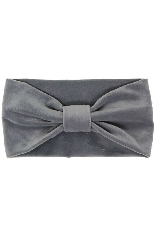 The Addison Headband in Grey