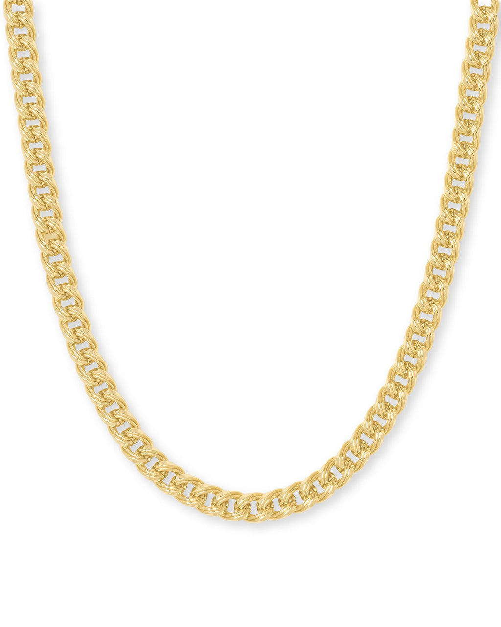 Vincent Chain Necklace in Gold Metal