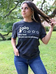 2020: Very Bad, Would Not Recommend Tee