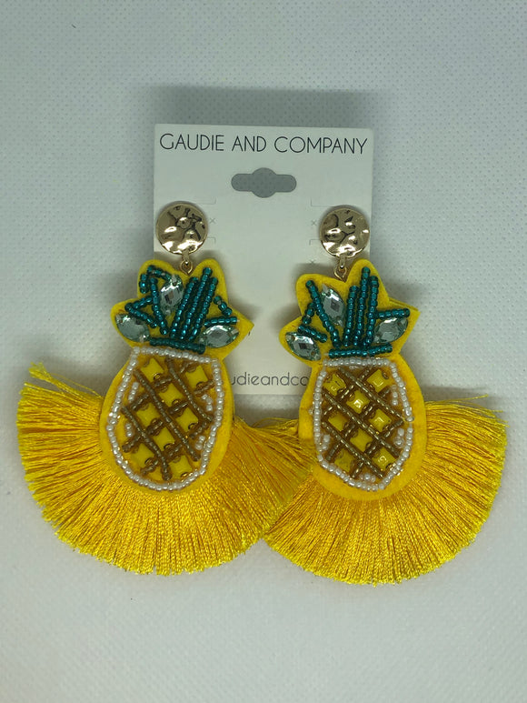 Stand Tall, and Be A Pineapple Earrings