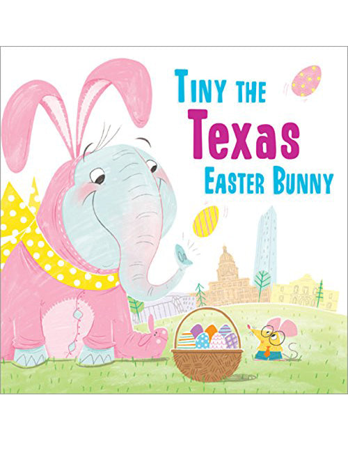 Tiny the Texas Easter Bunny Kids Book