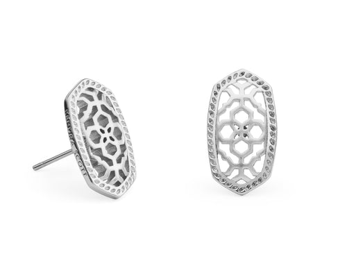 Ellie Stud Earring in Filigree