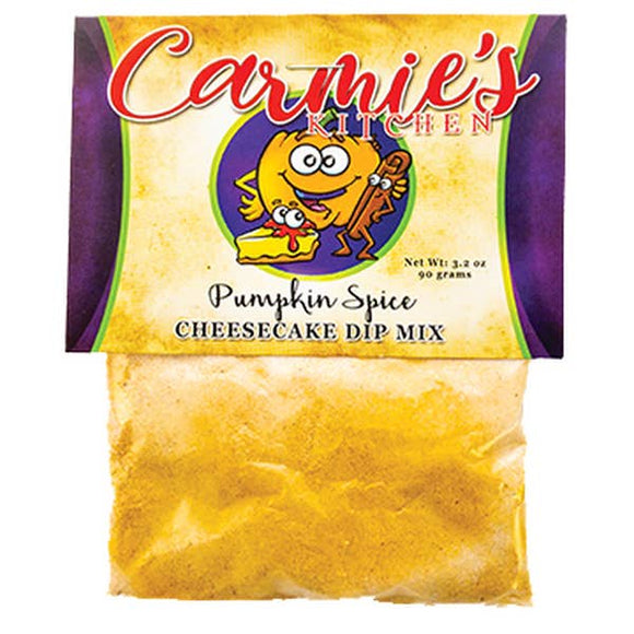 Carmie's Pumpkin Spice Cheesecake Dip Mix