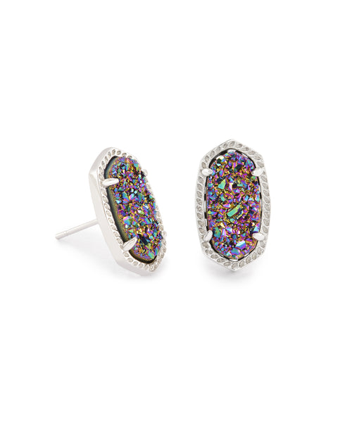 Ellie Stud Earring in Drusy