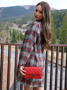 It's Happy Hour Shoulder Bag in Red