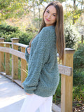 Back At The Start Sweater in Deep Sage