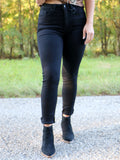 Bad Reputation Skinny Jeans in Black