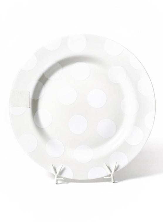 White Dot Big Entertaining Platter