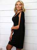 Off to the Cape Dress in Black
