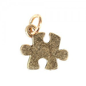 Puzzle Charm - Gold