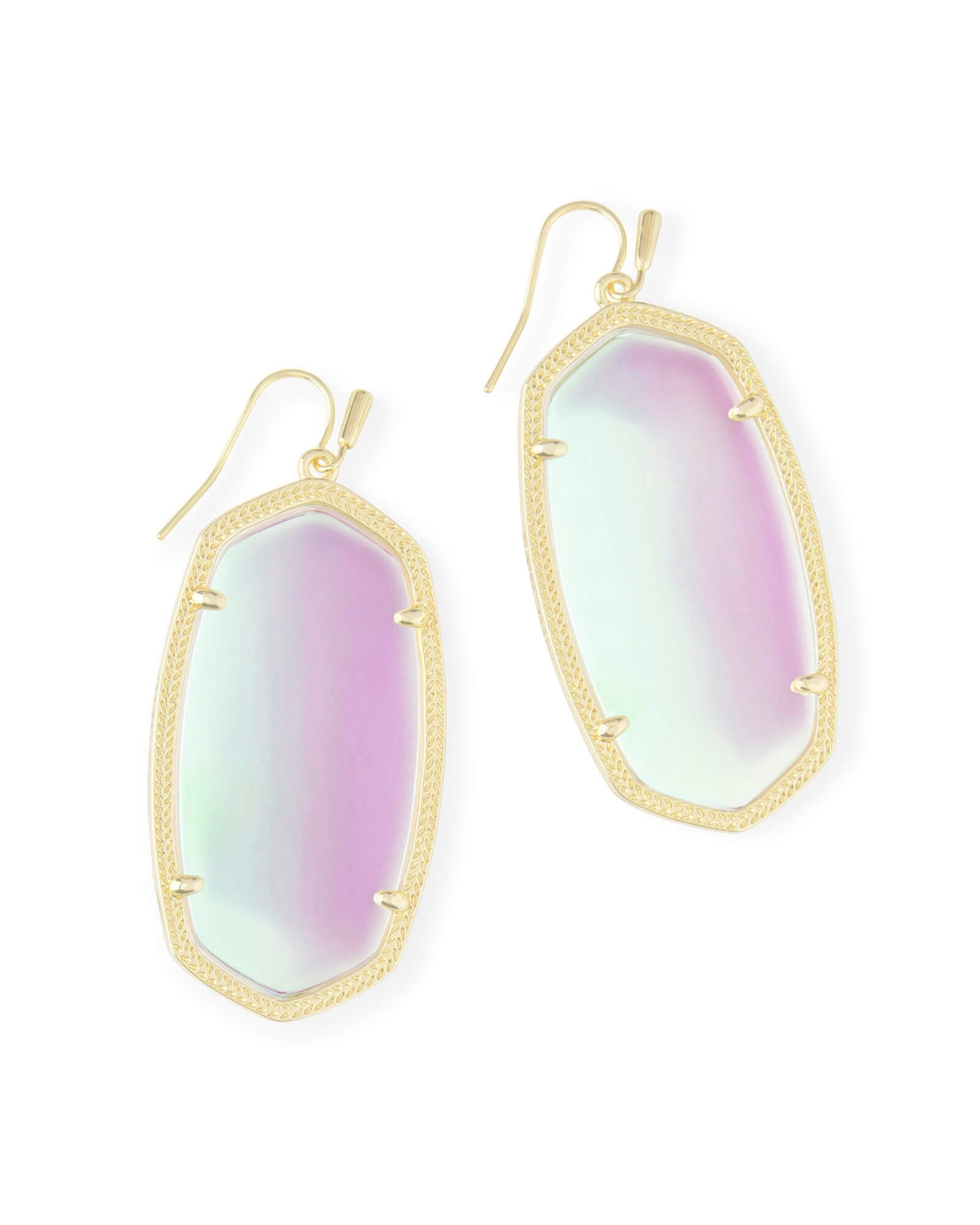 Danielle Earrings in Dichroic Glass