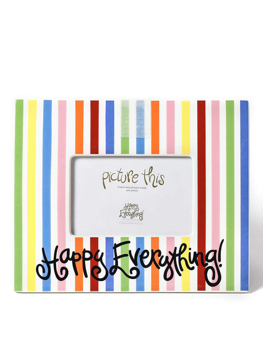 Bright Stripe Happy Everything Mini Frame