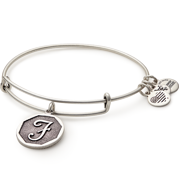 Initials Collection in Silver