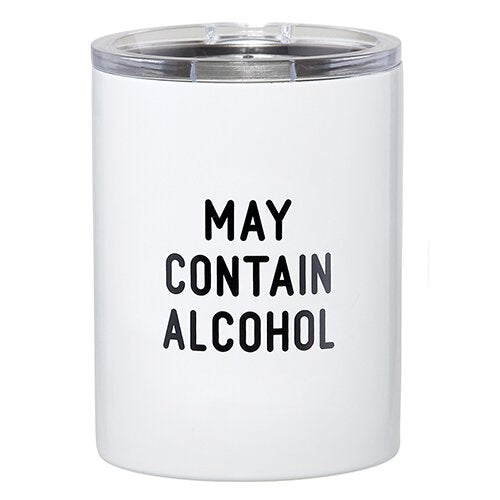 May Contain Alcohol Tumbler