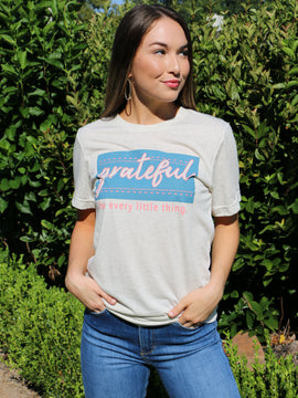 Grateful For Every Little Thing Tee