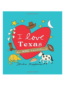I Love Texas Kids Book