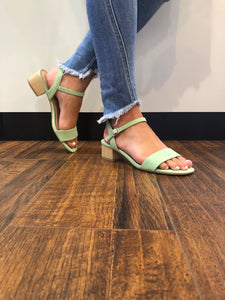 Walkin On Sunshine Sandal in Mint