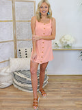 It's Your Love Dress in Peach