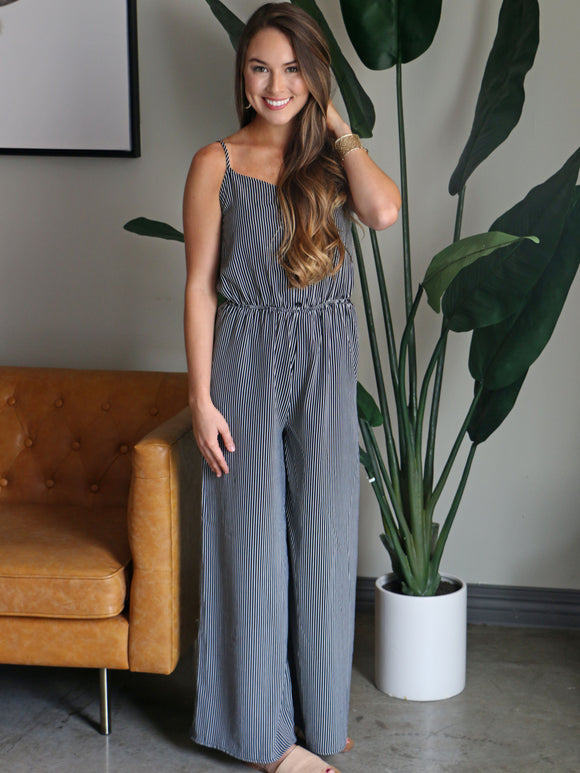 Living on A Thin Line Jumpsuit