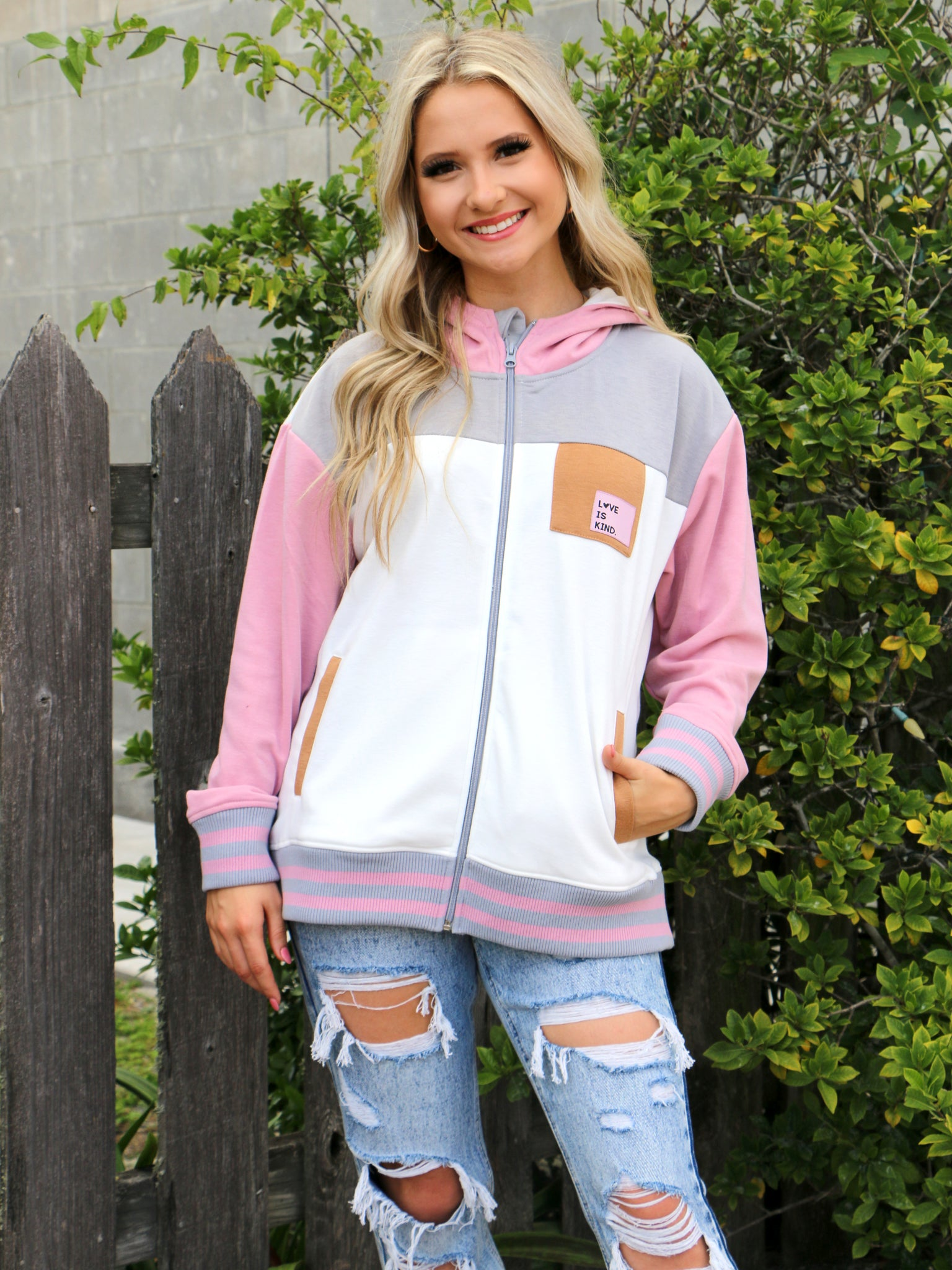 Love Is Kind Full Zip Jacket
