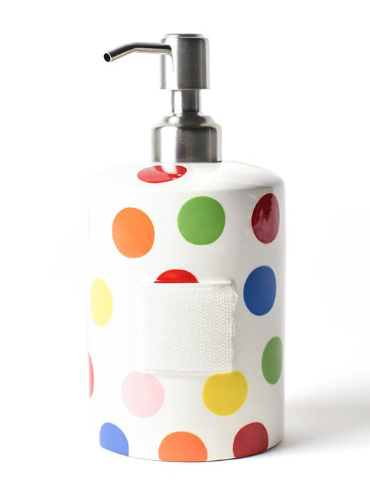 Bright Small Dot Mini Cylinder Soap Pump