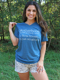 Motherhood Definition Tee