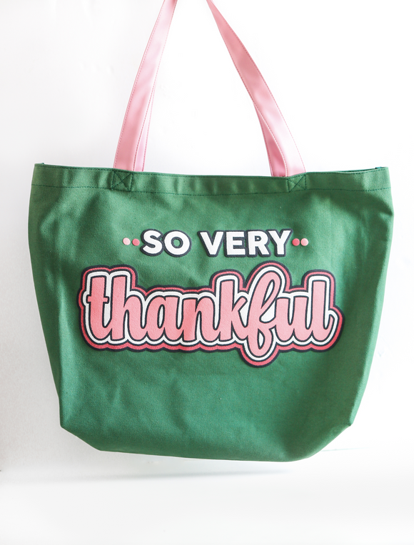 So Very Thankful Tote Bag