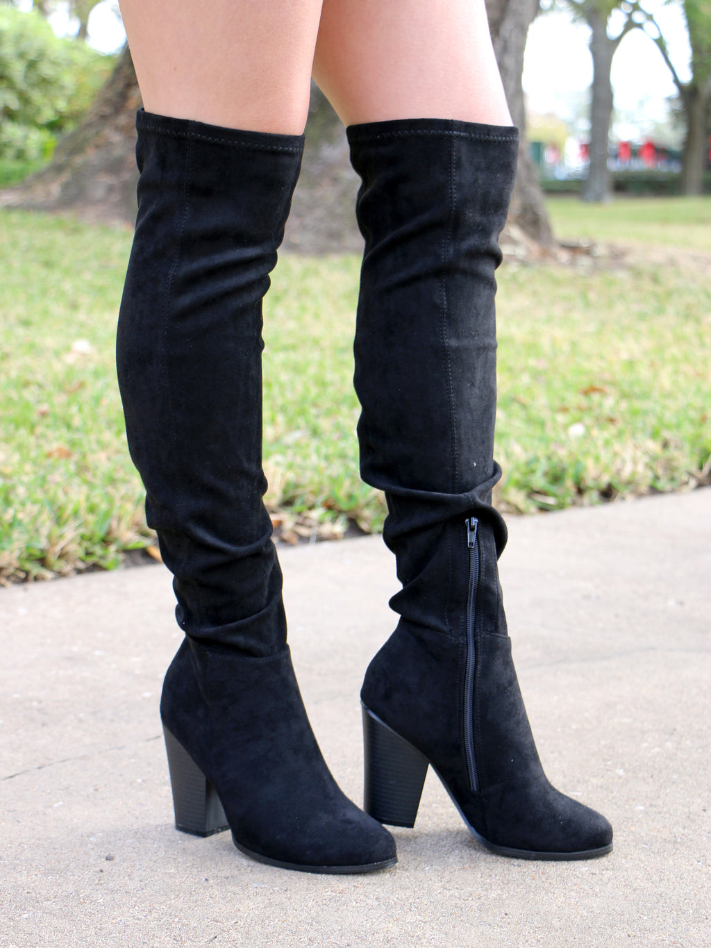 Step Up To It Boots in Black