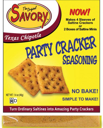 Savory Cracker Mix in Texas Chipotle