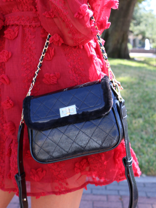 The Harper Handbag in Black