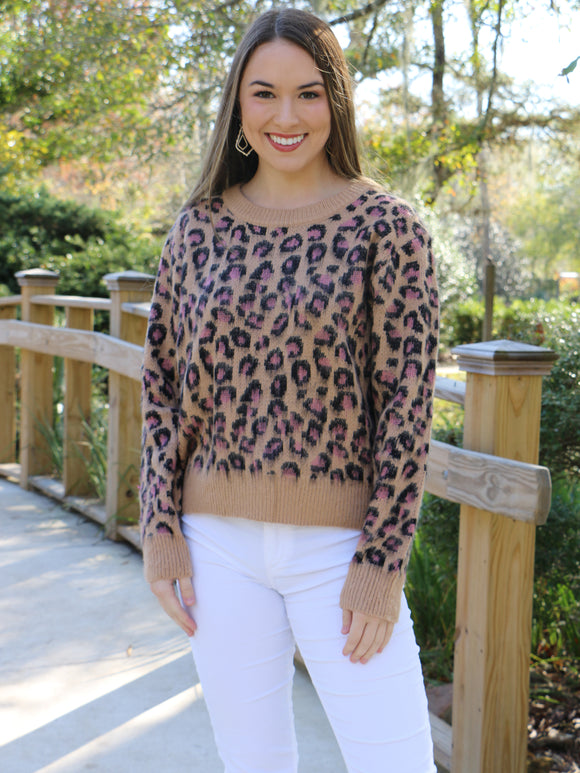 Thriving Everyday Leopard Sweater