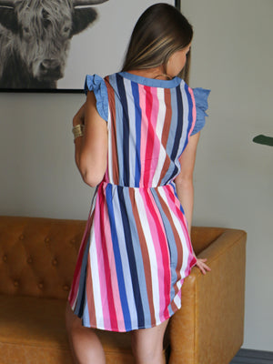 Toast to This Striped Dress
