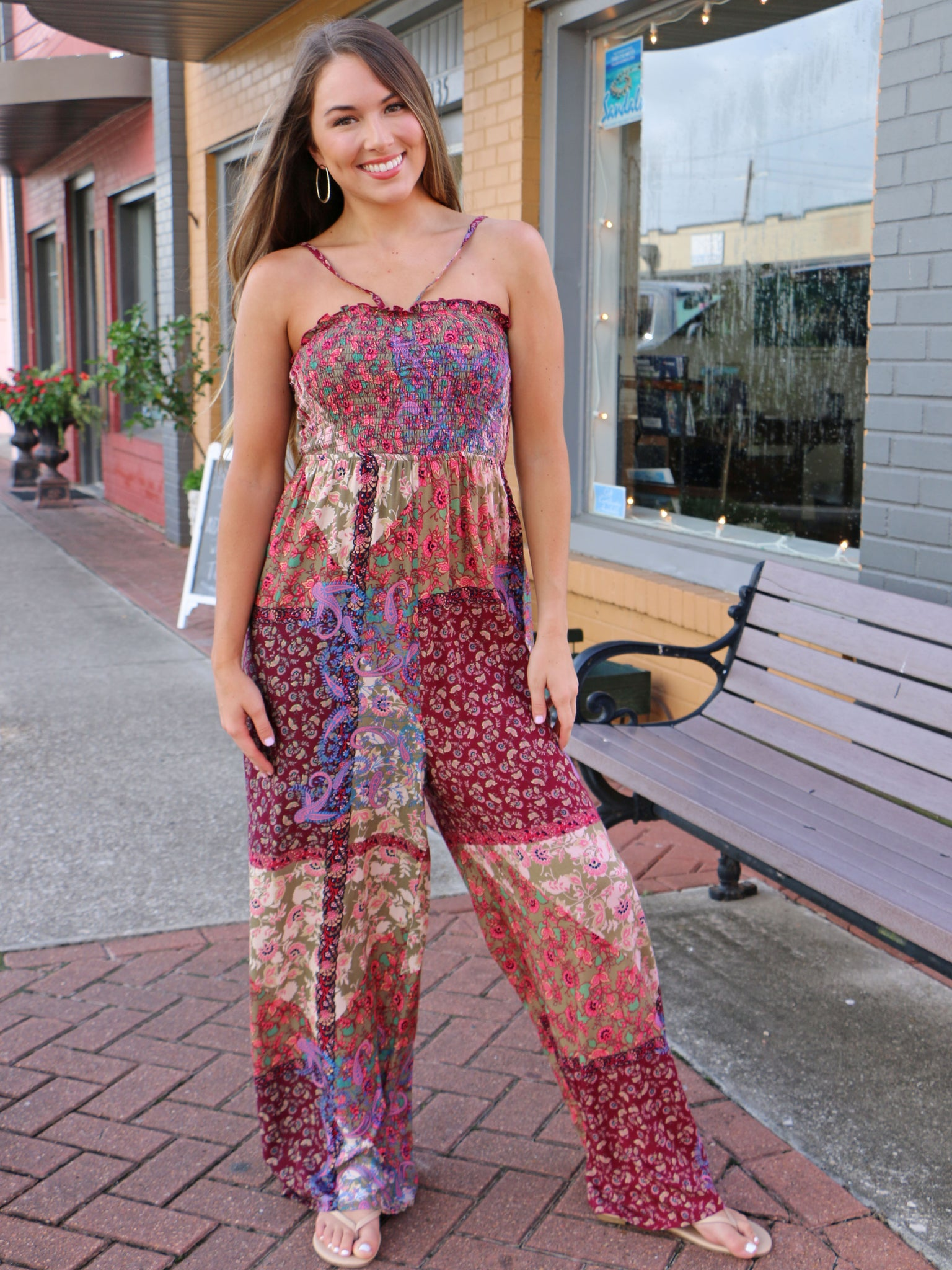 Wine and Dine Jumpsuit
