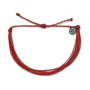 Bright Solid Red Bracelet