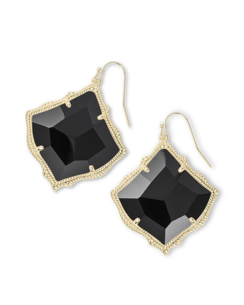 Kirsten Drop Earrings In Gold
