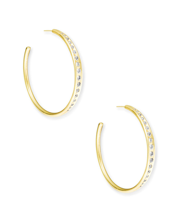 Selena Hoop Earring in Gold