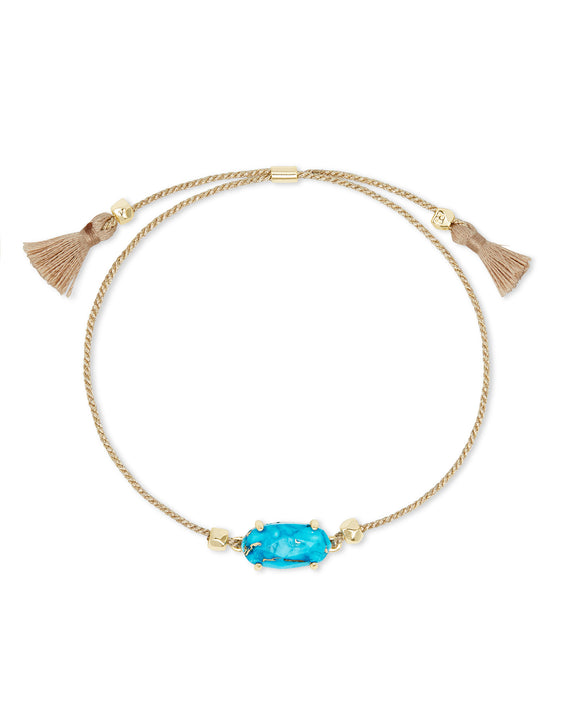 Everlyne Friendship Bracelet in Veined Turquoise