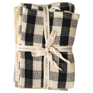 Gingham Tea Towels Set of 3