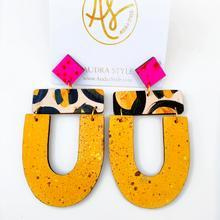 The Abby Earrings in Mustard