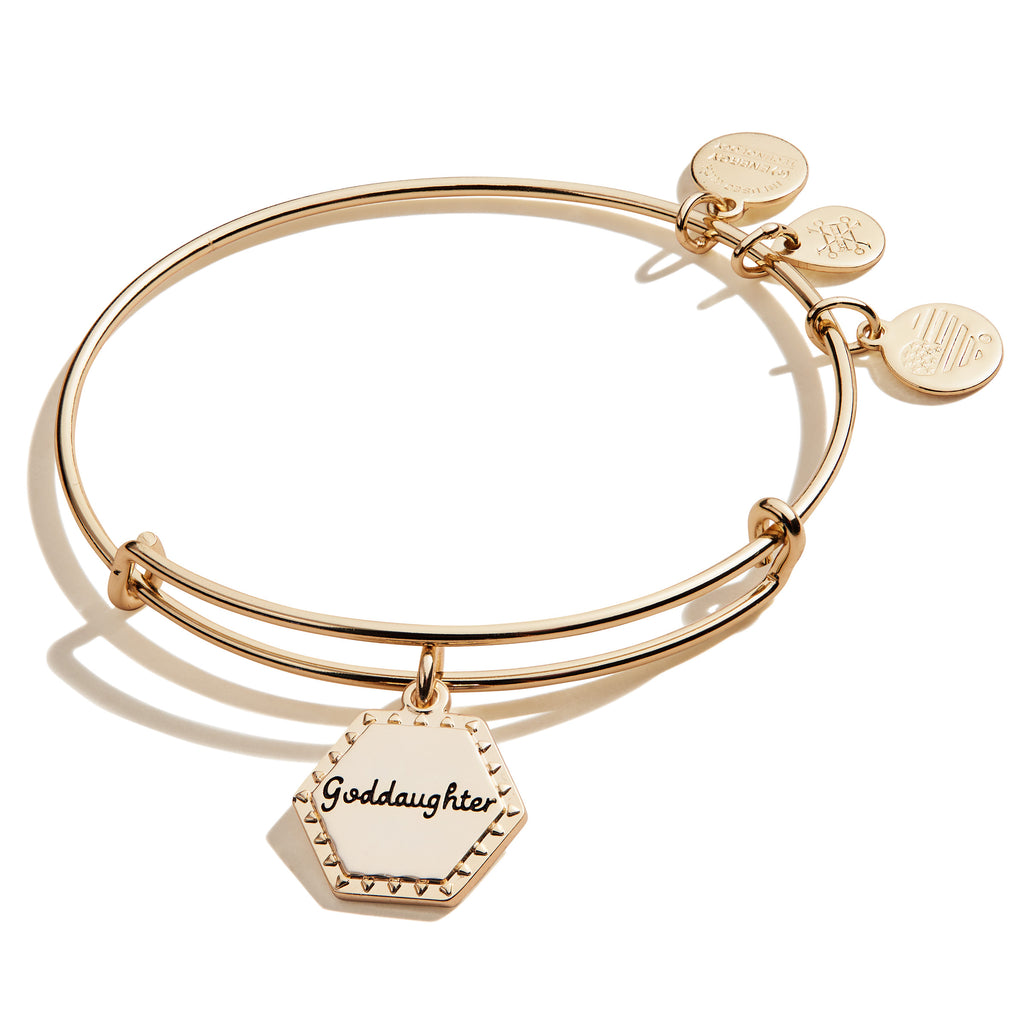 Because I Love You Goddaughter Bracelet in Gold