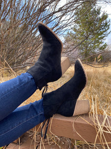 The Reese Booties in Black