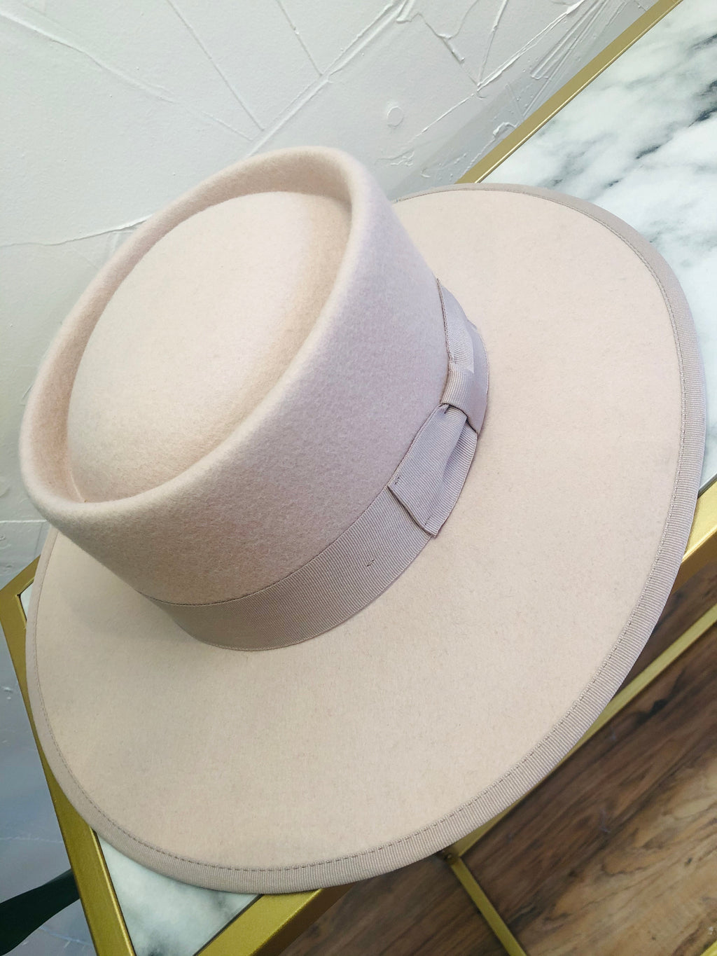 The Vida Hat in Blush