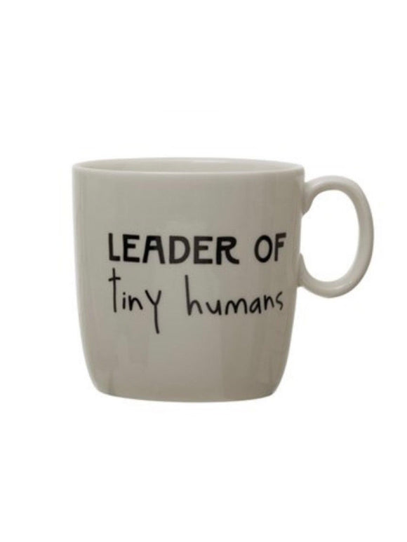 Leader of Tiny Humans Coffee Cup