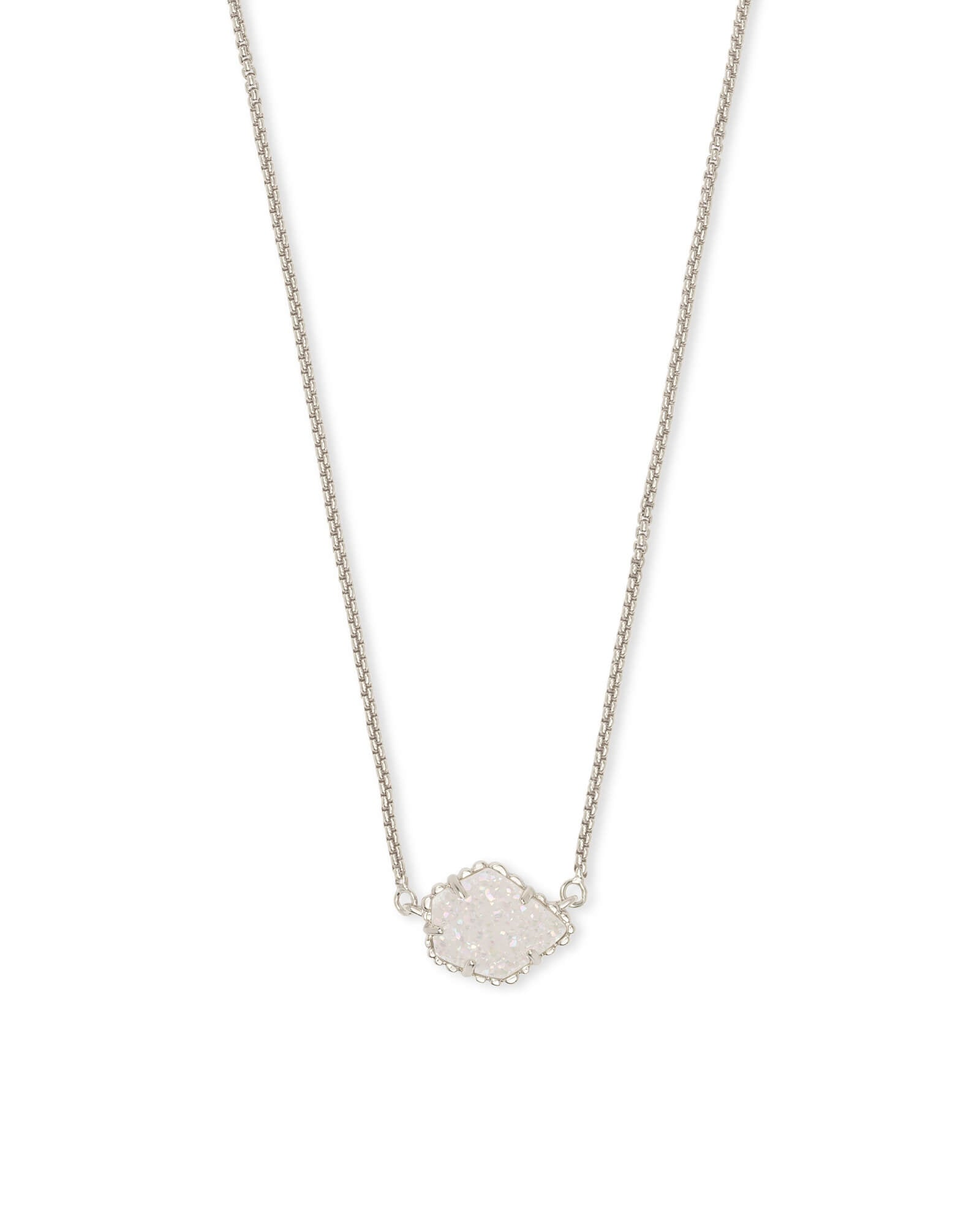 Tess Necklace in Drusy