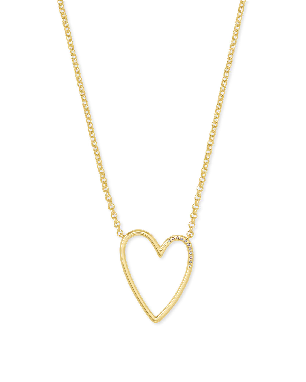 Ansley Pendant Necklace in Gold