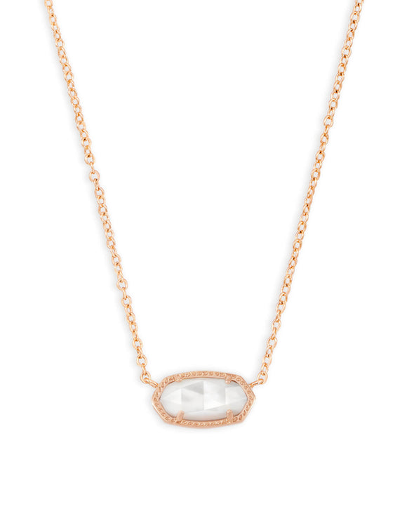 Elisa Signature Pendant in Rose Gold